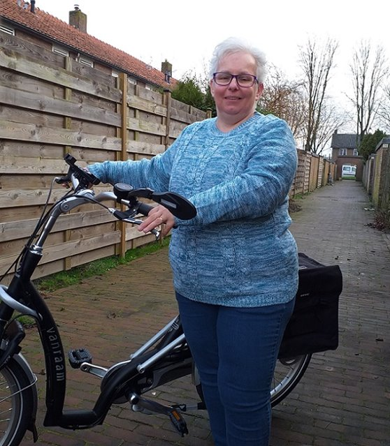 Paula Brommer Balance lage instap fiets