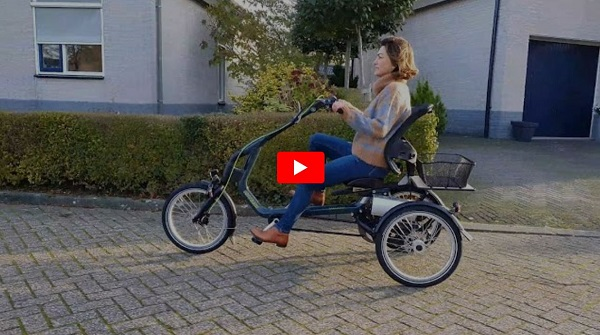 Video du tricycle electrique Easy Rider