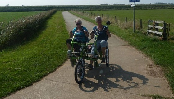 Texel three wheel tandem Fun2Go