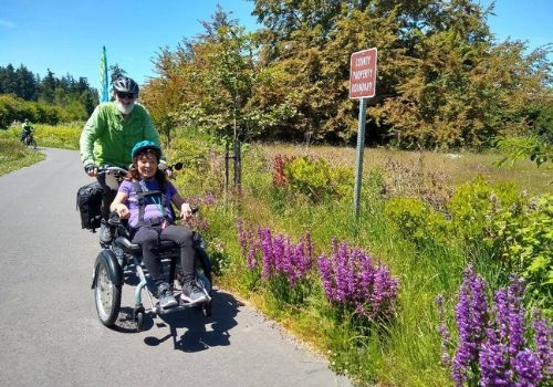 OPair wheelchair by Van Raam - Sequim Wheelers
