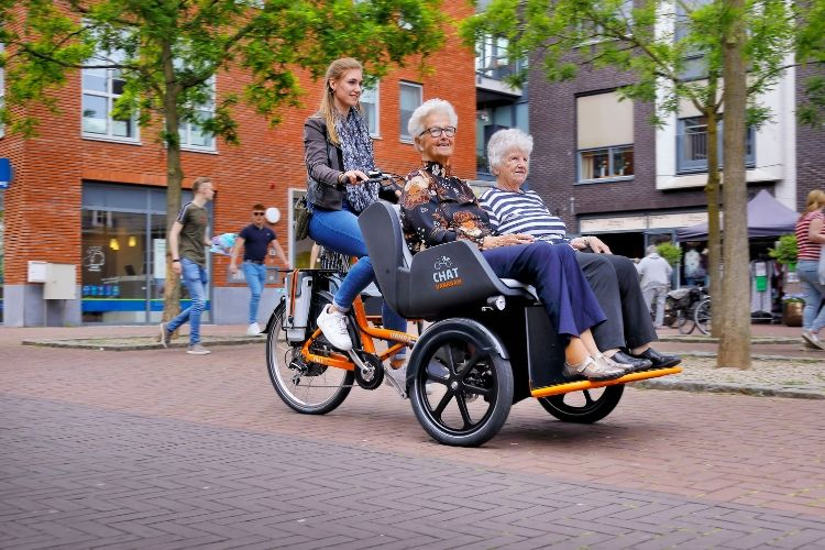 Chat Transport Bike Van Raam