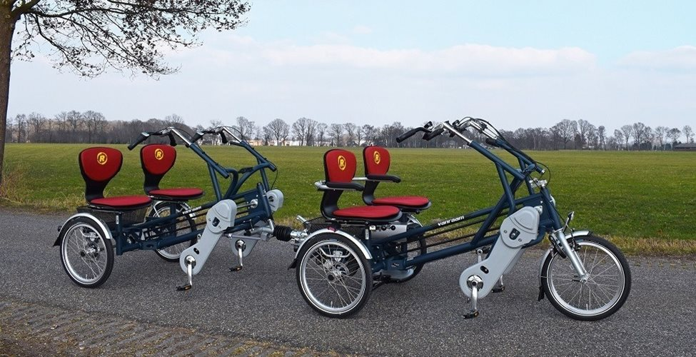 Double rider cycle + cycle trailer
