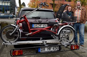 bike carrier tricycle Easy Rider gemany