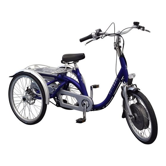 Tricycle with pedal assistent Silent HT VR2F