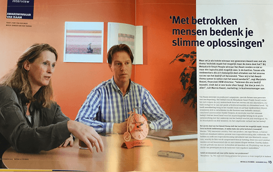 interview winnaar smart people award