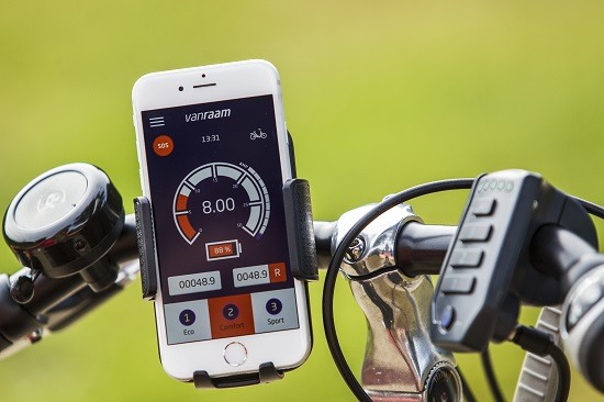 Van Raam bicycle app