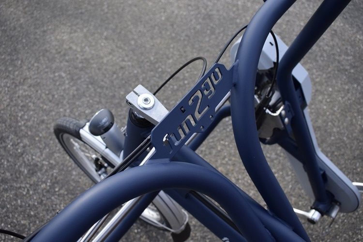 Fun2Go side by side tandem detail