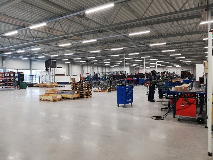 Production new Van Raam premises