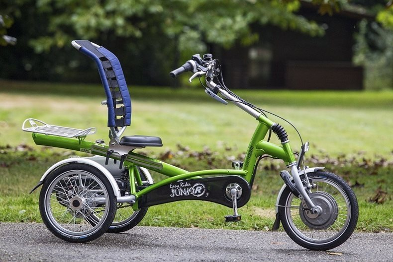 Easy Rider Junior tricycle by Van Raam suitabe for people with MS