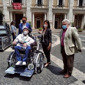 aspasso bike impressions Rome wheelchair bike VeloPlus