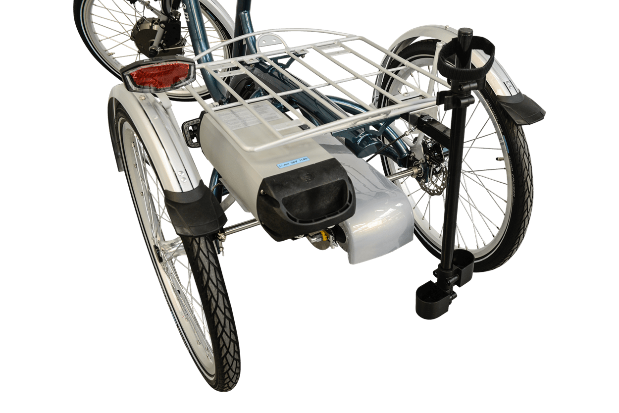 Porte-canne tricycle