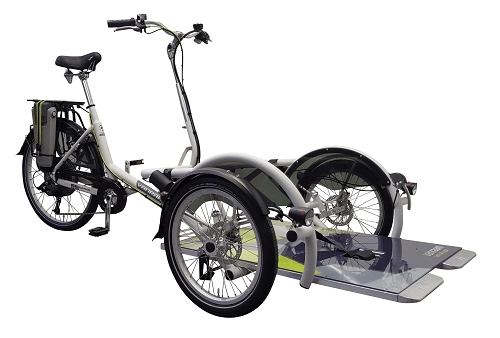 Wheelchair bike electric