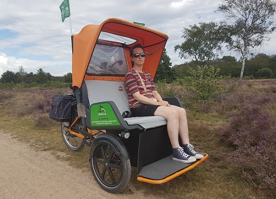 Customer experience Chat Rikshaw Bike Riksja Harderwijk