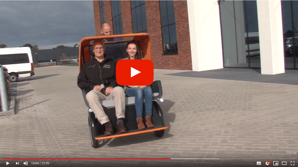 Video award-winnende Chat-Riksjafiets
