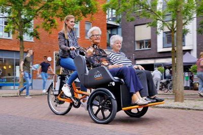 Transport bikes to cycle with a disability