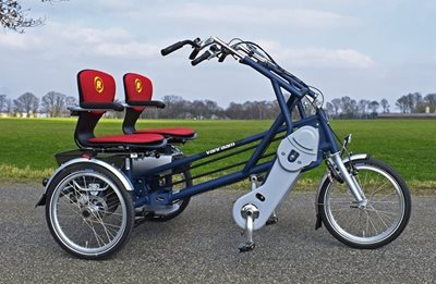 Fun2go Ein Sicheres Fahrrad F 252 R 2 Personen Van Raam