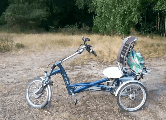 User experience tricycle Easy Rider Mini Abbink