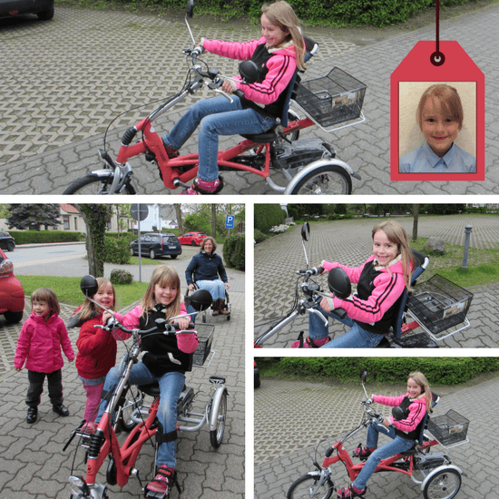 Special needs tricycle for children
