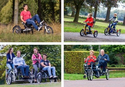 Cycling with a disability Van Raam special needs bikes