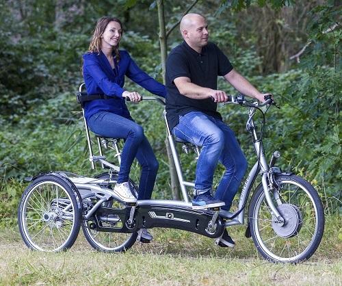 tandem van raam special needs bike tandem bike van raam. Black Bedroom Furniture Sets. Home Design Ideas