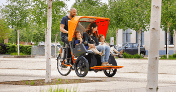 Rickshaw Chat family bike