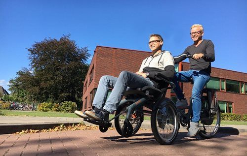 wheelchair bike: head-designers Opair
