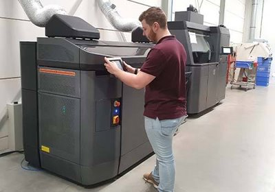 HP Multi Jet Fusion HP 3D Printer Van Raam