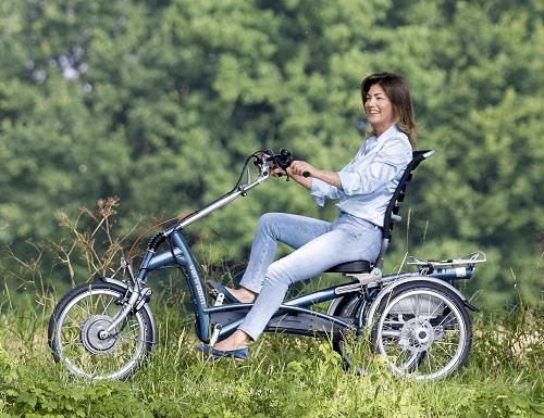 Riding A Tricycle Tricycle Adults Van Raam Van Raam