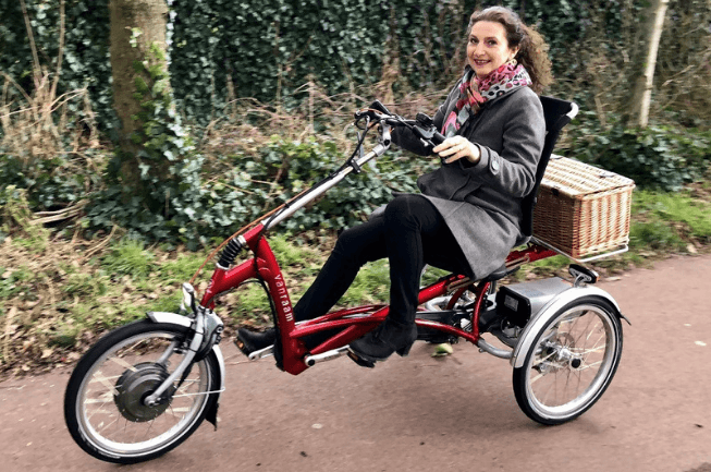 Making-a-bike-ride-together-with-the-tricycle-for-adults-Easy-Rider-by-Van-Raam