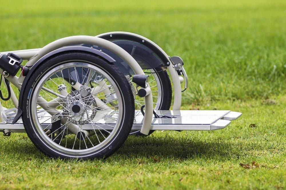 plateau wheelchair bike