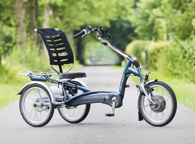 Easy Rider tricycle by Van Raam suitable for people with rheumatism