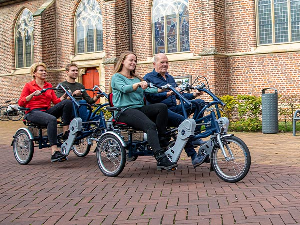 duo bike trailer FunTrain Van Raam