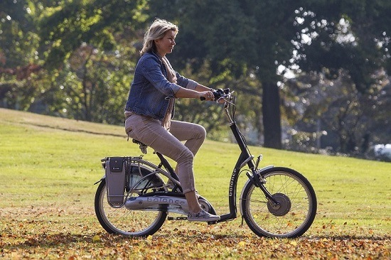 Balance bicycle for elderly