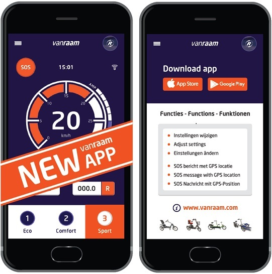 Van Raam APP | Download Free | Bicycle Data | Van Raam
