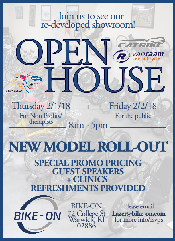 Open house in the USA with Van Raam bicycles