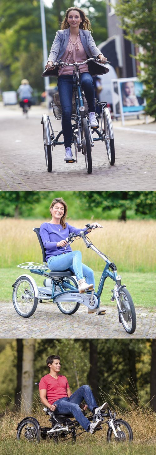 Tricycle adults people