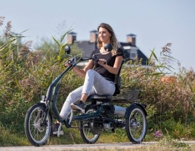 mobility with an Van Raam electric tricycle