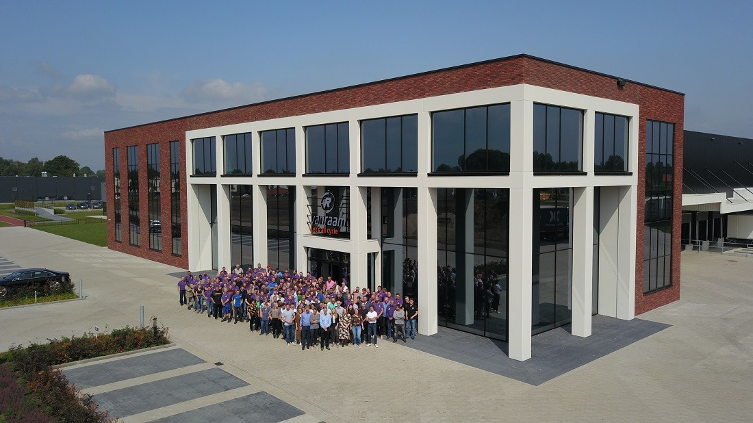 Van Raam employees factory for special needs bikes in Varsseveld