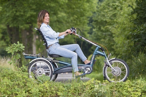 Tricycle Easy Rider 2 with seat and pedal support