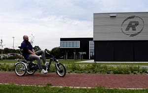 Make a test ride with a special needs bike at Van Raam