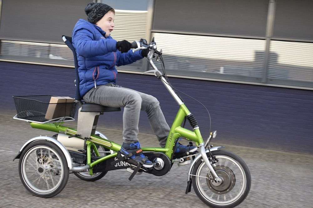 Specially adapted Easy Rider Junior tricycle