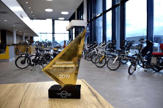Van Raam winner Guus Hiddink Business Award 2019