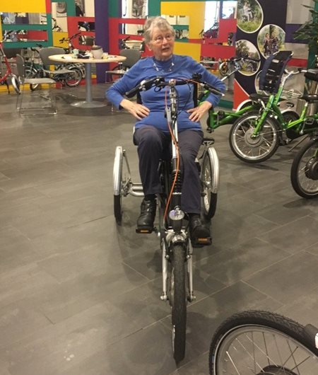 Testing Easy Rider tricycle