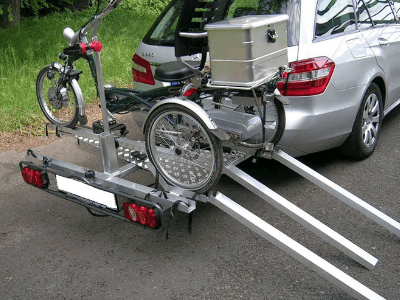 Trailer with an Easy Rider