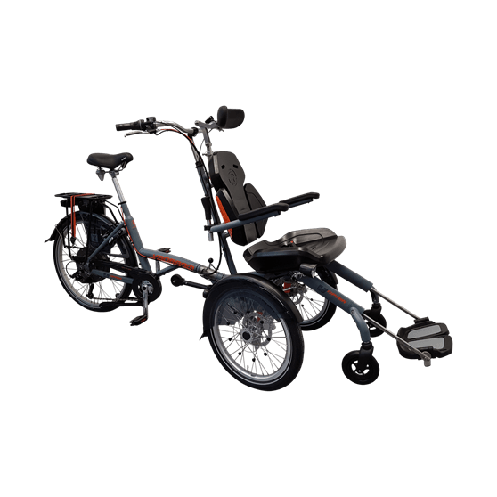 wheelchairbike with motor