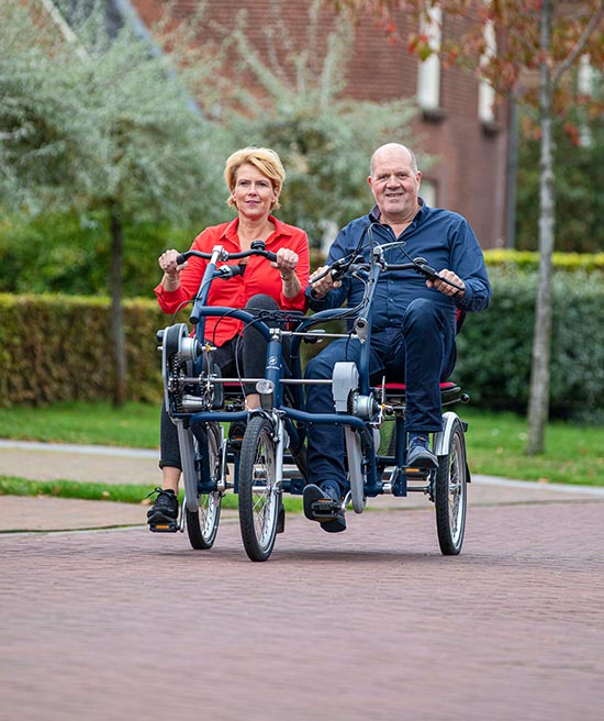 Share your experience Fun2Go side by side tandem Van Raam
