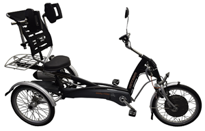 Easy Rider Tricycle with shoulder steering