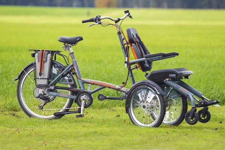 Wheelchair bike - Van Raam special needs bike