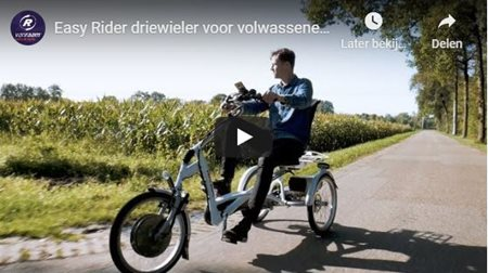 Video Easy Rider Dreirad von Van Raam