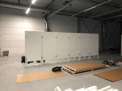 New Van Raam building in Varsseveld - Calendar week 47 (November 2018)